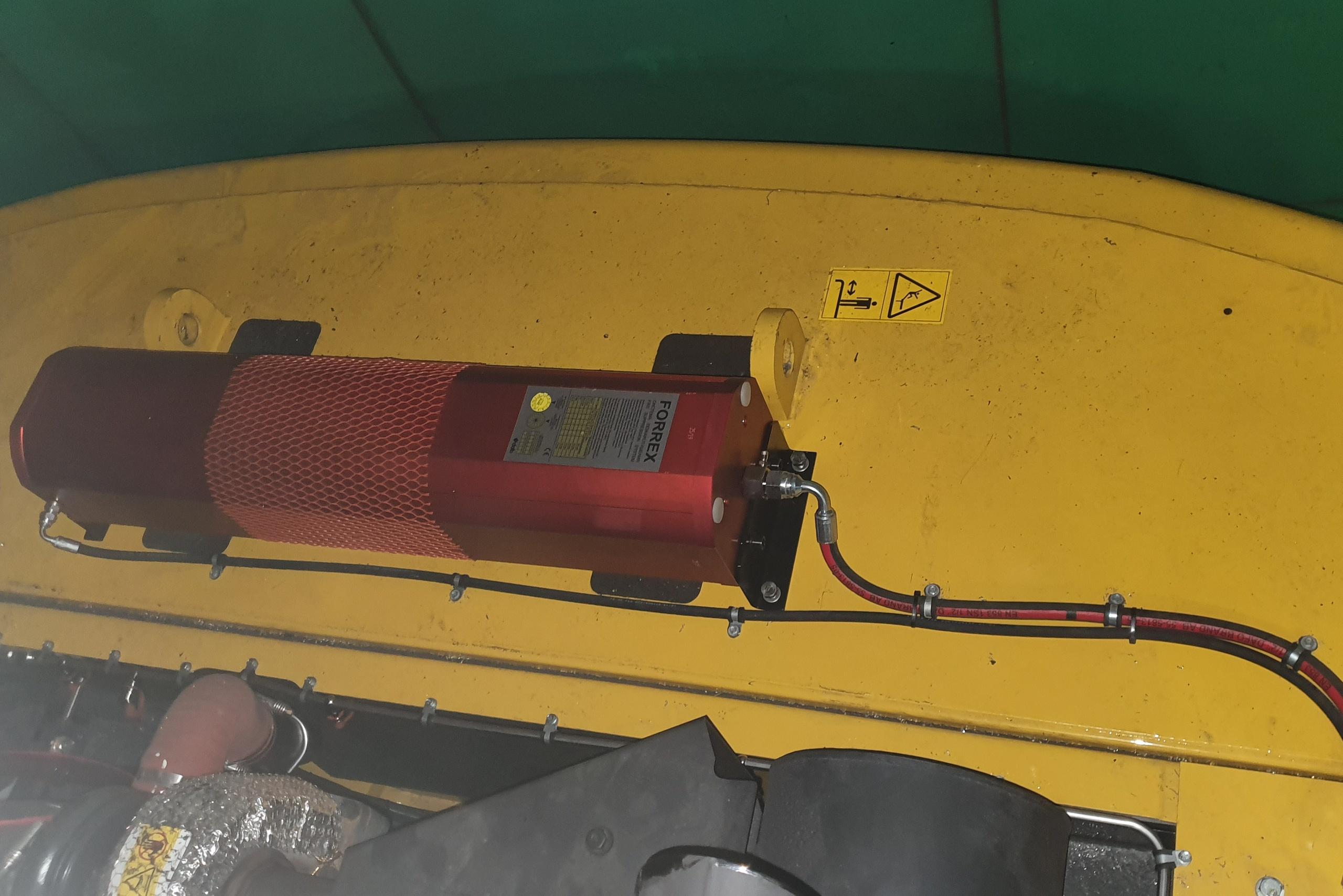 системы пожаротушения для горной промышленности